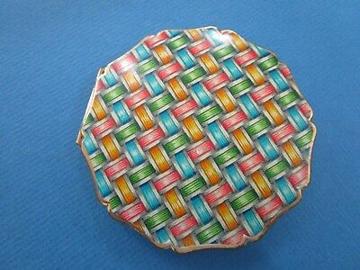 Vintage STRATTON Ladies' COMPACT, Basket Weave Design