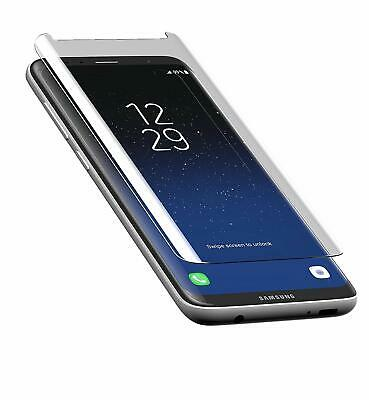 For Samsung Galaxy S8 100% Genuine Tempered Glass Clear 3D Screen Protector UK