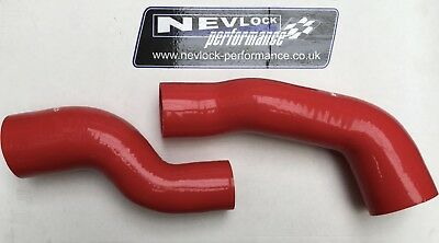 Nevlock Performance Astra / Zafira Vxr 2.0T Standard Tophat Boost Hose Kit Red