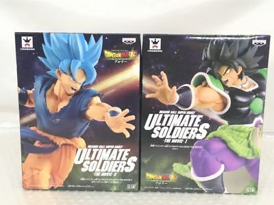 Dragon Ball Super ULTIMATE SOLDIERS THE MOVIE Figure Broly Gokou set 2018 FS