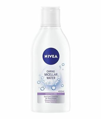 Nivea Gentle Caring Micellar Water Refreshing 3 in 1 for sensitive skin face eye