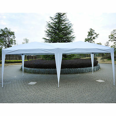 Outsunny 6X3M Pop Up Gazebo Canopy Marquee Party Tent Wedding Awning White