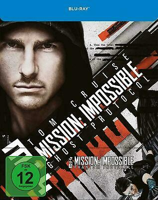 Mission: Impossible Ghost Protocol - Limited Edition Steelbook [Blu-ray] New!!
