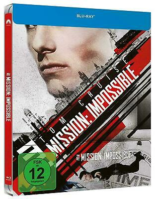 Mission: Impossible - Limited Edition Steelbook [Blu-ray] New!!