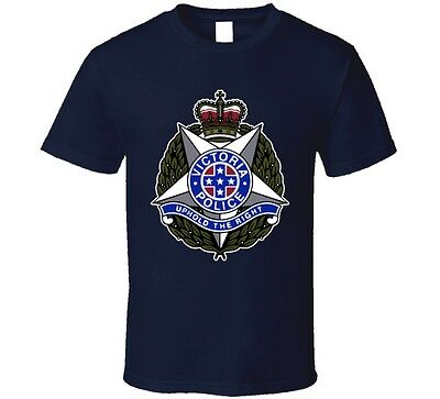 Victoria Police Front Logo T Shirt
