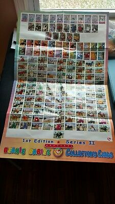 b14683b45e6 Rare Ty Beanie Babies Official Collectors Cards 1St Edition-Series I   Ii  Poster