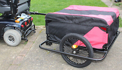 Mobility Scooter Towing Trailer Attachment XXL Shopping Cargo Transport Solution