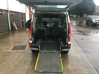 Renault Kangoo Automatic WHEELCHAIR ACCESSIBLE mobility disabled ramp