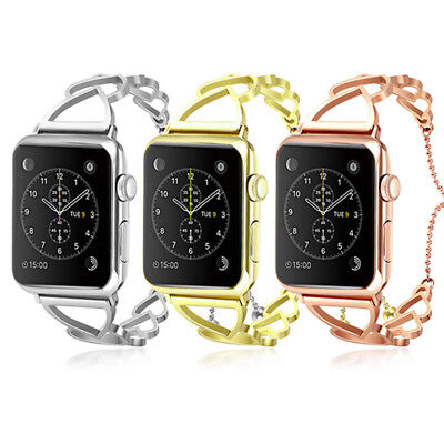 Women Replacement iWatch Strap for Apple Watch Band 40/44mm Girl Watch Bracelet