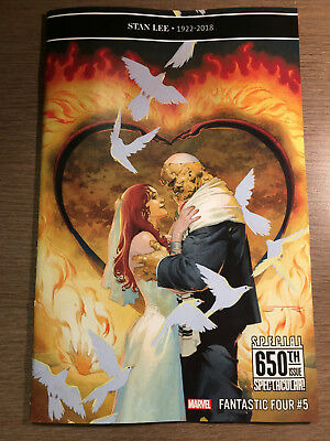 Fantastic Four #5 - 650Th Issue - Regular Cover - 1St Print - Marvel (2019)