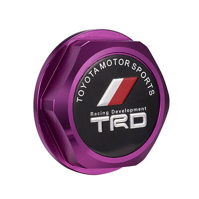 Oil Fuel Filler Racing Engine Tank Cap Cover Plug Accessories for Toyota Purple