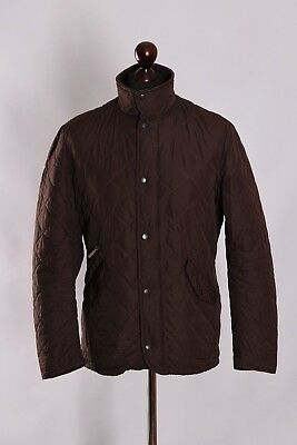 Men's Barbour Chelsea Sportsquilt Quilt Jacket Size S M Genuine Casual #
