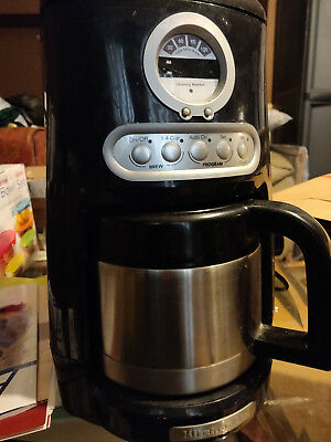 KitchenAid Coffee Maker Thermal 12 Cup Coffee Machine Onyx Black R-KCM1203OB