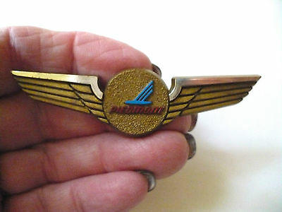 Piedmont Airlines Souvenir Pin Brooch Lapel Plastic Pilot Wings Vintage Series 1