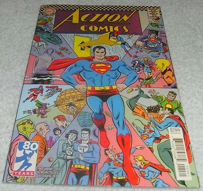 DC COMICS ACTION COMICS # 1000 VF+/NM 1960's VARIANT