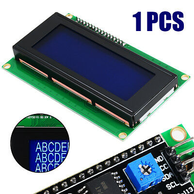 Blue Backlight Serial IIC/I2C/TWI 2004 20X4 LCD Module Display For Arduino