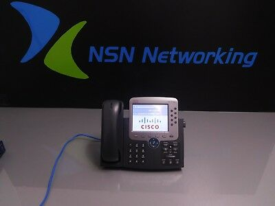 Cisco CP-7975G 7975G Unified 8-Line IP Color TouchScreen Display Gigabit Phone
