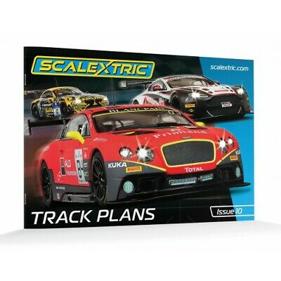 Scalextric C8334 Track Plans Book (10th Edition)