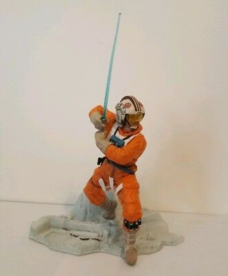 Star Wars Unleashed series Luke Skywalker Hoth Snowspeeder Pilot complete