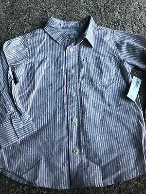 Boys Old Navy Size 4T Button Down Dress Shirt- NWT