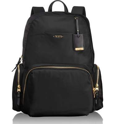 New Tumi Calais Voyageur Backpack in Black for Business Travellers 100% new