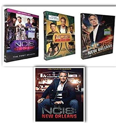 NCIS New Orleans Season 1-4 DVD Box Set Complete Collection TV Series 1 2 3 4