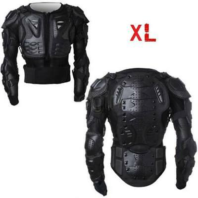 Motorcycle Full Body Armor Jacket Chest Protective Gear Motocross Racing XLarge