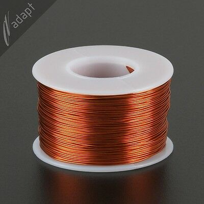 23 AWG Gauge Magnet Wire Natural 313' 200C Enameled Copper Coil Winding