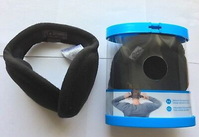 180s New Adjustable Ear Warmers Ear Muffs with Gift Package-Black-Lots 1-4