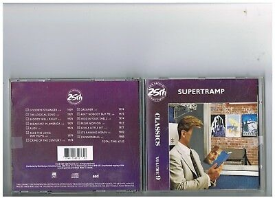 Supertramp Cd..classics..the Best Of Greatest Hits