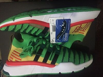 ADIDAS X DRAGON Ball Z EQT Support MID ADV Shenron Size 9 DS Green D97056