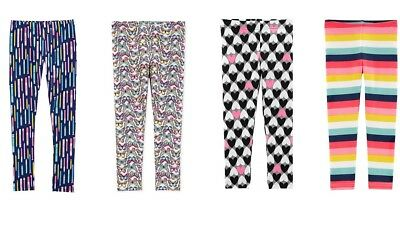 New Carter's Girls Leggings [Choose Color And Size]