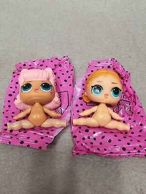 LOT 2 BARE DOLL LOL Surprise Dolls Series 3 ANGEL & Vacay Babay Big Sister