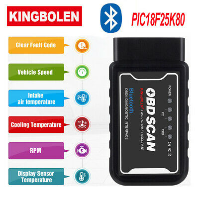 ELM327 WiFi Bluetooth V1.5 OBD2 OBDII Car Diagnostic Scanner Code Reader Tool