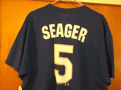 Corey Seager Los Angeles Dodgers #5 T-Shirt VF Imagewear MLB Officially Size XL