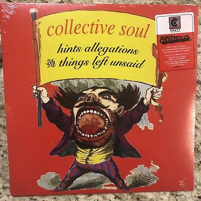 Collective Soul Hints Allegations and Things Left Unsaid red vinyl RSD BF 2018