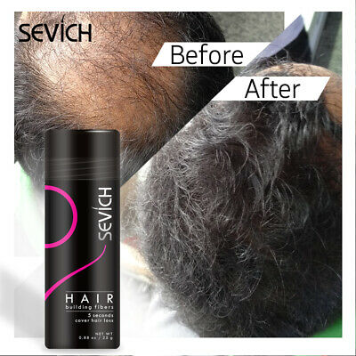 Sevich Hair Loss Concealer Hairs Building Fibers Spray Styling Powder Coloring