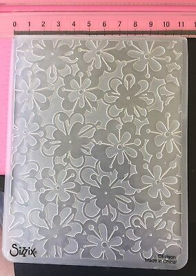 #261 Sizzix Embossing Folder Cuttlebug Spellbinders Compatible LAST STOCK!!!