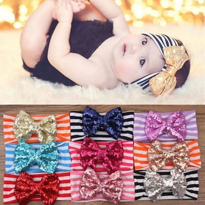 Cotton Head Band Turban Multicolor Headband Bow Hairband For Baby Knot Rabbit