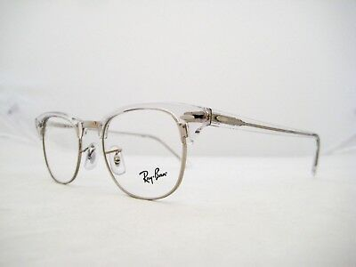 1716564d26 NEW AUTHENTIC RAY BAN Eyeglasses RX5154 2001 51mm White Transparent ...
