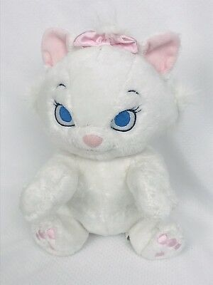 Disney Parks Plush Disney Babies Marie Aristocats White Kitty Cat No Blanket 9""