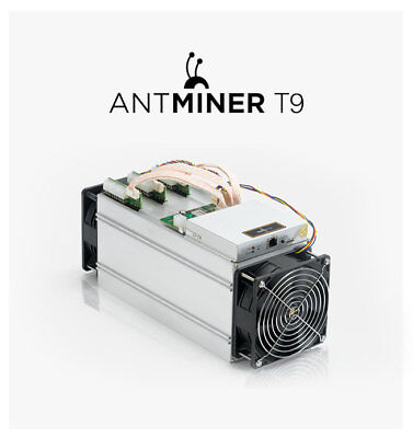 Antminer T9 11.5 TH/s With PSU (not T9+ or S9) Bitcoin Miner US Seller