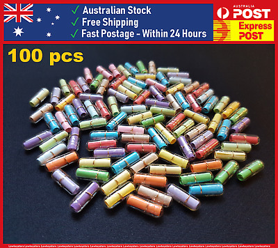 100 PCS Pill Capsules Message in a Bottle Party Favours Love Letter Valentine's