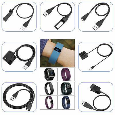 USB Charging Cable Charger Cord for Fitbit Alta/Blaze/Charge HR/Surge/Flex Band