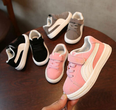Boys Girls Kids Trainers Sneaker Children Infant Toddler Casual Shoe Size 20-29