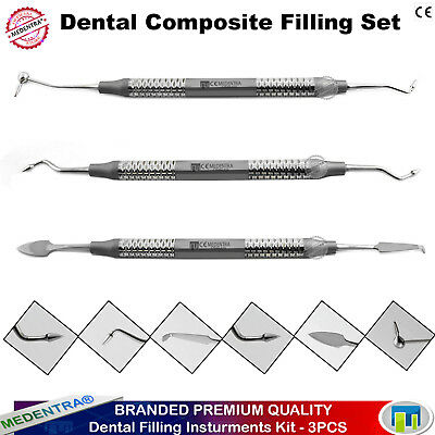 Restorative Dental Composite Filling Instruments Condensers Pluggers Spatula CE
