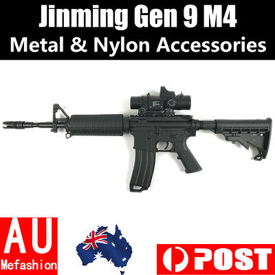 2019 Upgrade Metal Accessories Jinming Gen9 M4 J9 Gel Ball Blaster Outdoor Toy