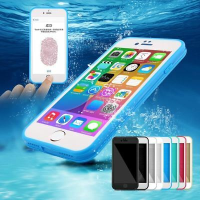 For iPhone  X 8 7 Plus 6s 5s Waterproof Shockproof Hybrid Rubber TPU Case Cover