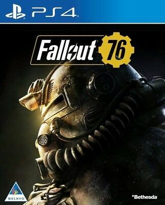 Fallout 76 PS4 Brand New Sealed Free Postage PlayStation 4 2019 Sale Unopened