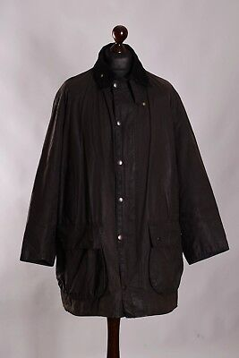 Men's Barbour Border Jacket Size C48 / 122cm Genuine Casual Waxed #